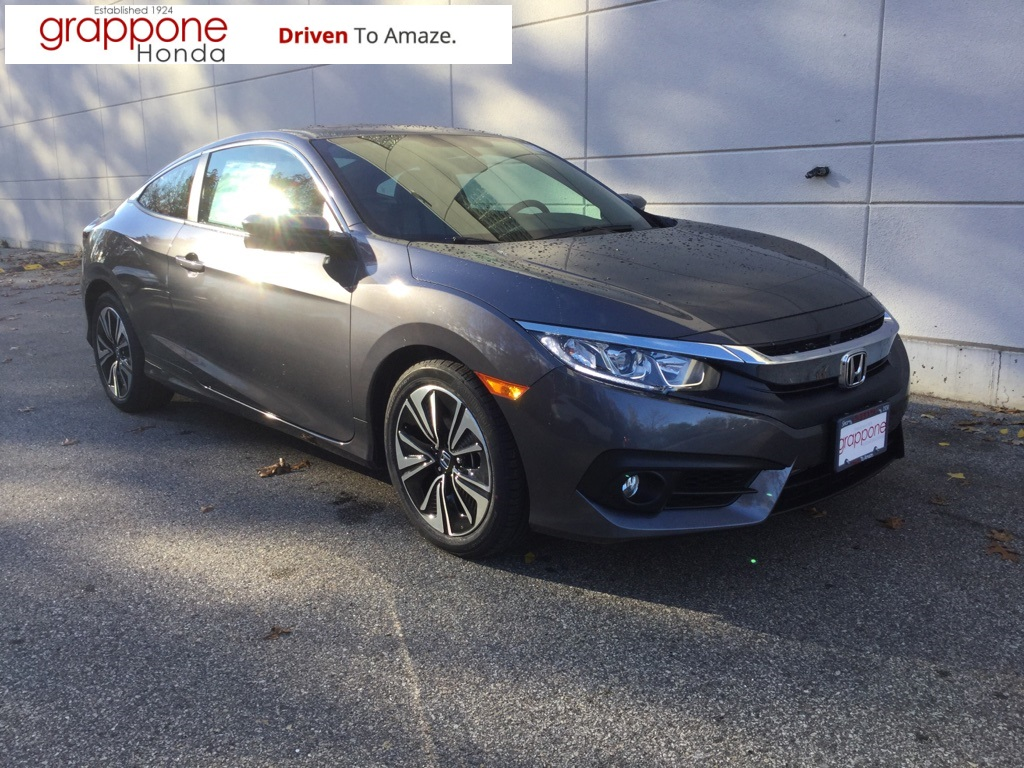 New 2018 Honda Civic Ex T 2d Coupe In Bow Di State