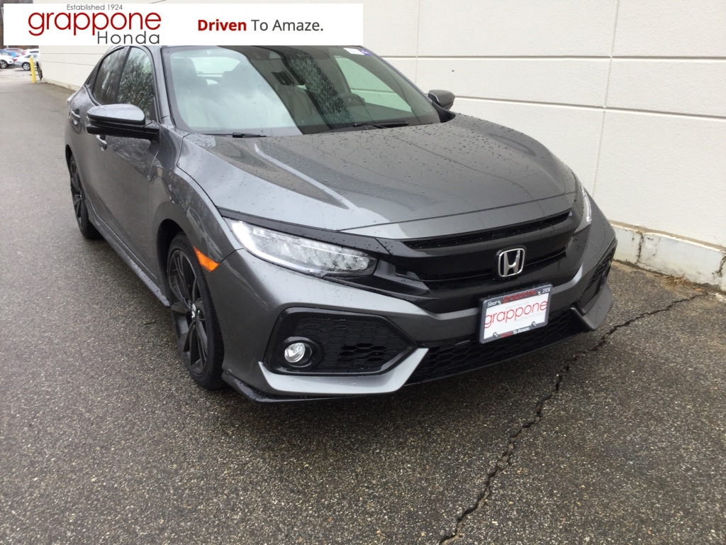 new 2018 honda civic sport touring 4d hatchback in bow di state hf0537 grappone honda. Black Bedroom Furniture Sets. Home Design Ideas